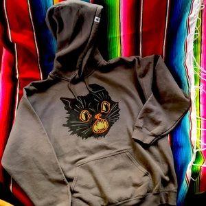 CREEPY CO. Halloween cat sweater.